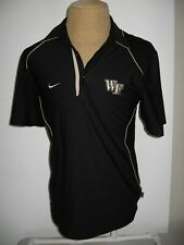 Wake Forest Nike Polo Shirt Adult Mens Small
