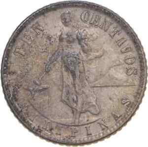 Better - 1945 Philippines 10 Centavos - TC *846