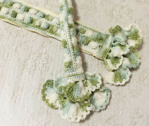 "NEW 3 Mix Colors Crochet Handmade Bag Handle Cover 10"" LV SPEEDY ALMA Japan"