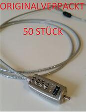 SONDERPOSTEN Kensington Schloss Kabelschloss Cable Security Lock Laptop 50 Stück