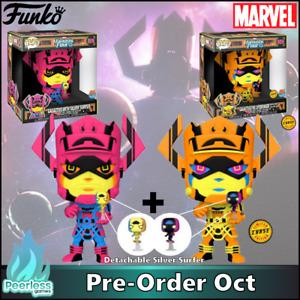 Funko POP! Marvel Galactus with Silver Surfer Black Light Chase Bundle Pre-Order