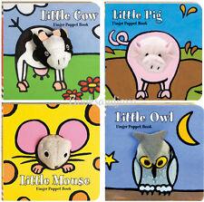 Little Finger Puppet  Little Owl,Little Mouse,Little Pig & Cow (4 Board Books)