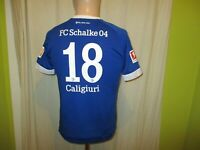 "FC Schalke 04 umbro Heim Trikot 2018/19 ""GAZPROM"" + Nr.18 Caligiuri Gr.164 TOP"