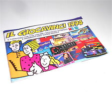 IL GIOCAVINCI 1994 italy catalogo giocattoli Brivido, Isola di fuoco, polistil