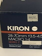 KIRON 28-70mm f/3.5-4.5 Macro 1:4 Camera Lens Unused In Box