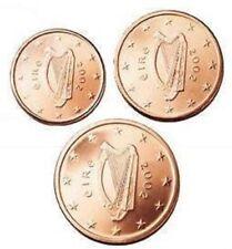 DESTOCKAGE : PIECES  1+2+5  CT  IRLANDE  ANNEE  2002  NEUVES