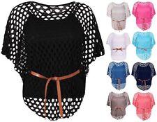 Hüftlange Damenblusen, - Tops & -Shirts mit Stretch Größe 42