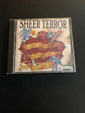 Sheer Terror - Love Songs For The Unloved CD Hardcore Punk Rock