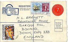SS222 1978 *BAHAMAS* Devon GB Postal Stationery {samwells-covers}PTS