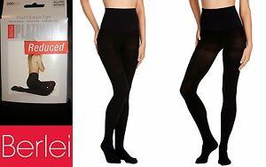 Berlei Platinum Plush Opaque Thermal Warm Cosy Tights Soft Fleecy Feel Black