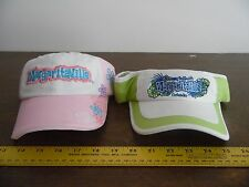 2 Jimmy Buffett  Margaritaville Orlando Ball Cap and Visor  Hat  Brand New