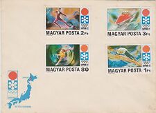 (ICN75) 1972 Hungary 4set XI Sapporo OLYMPICS (A)