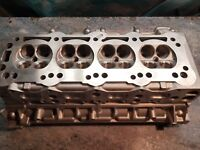 VAUXHALL REDTOP GASFLOWED CYLINDER HEAD C20XE C20LET PORTED AND POLISHED