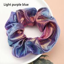 HN Women Hair Band Rope Elastic Flower Ponytail Holder Scrunchie Accessorie FT
