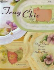 """""""Tray Chic"""" by Pat Saunders: 11 Elegant Designs - Decorative Painting Craft Book"""