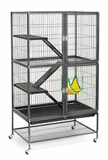 Large Ferret Cage Chinchilla Rabbit Hamster Guinea Pig Rat House Metal Habitat
