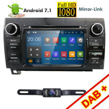 Car Android 7.1 DVD GPS Player for Toyota Tundra Sequoia Mirror OBD Radio+CAM