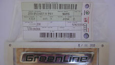 SKODA Superb GreenLine REAR TRUNK BOOT BADGE EMBLEM GENUINE NEW 3T0853687H YKY