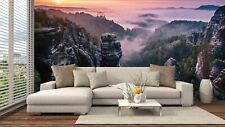Schlafzimmer Wandbild Foto Tapete 384x259cm Premium Sonnenaufgang auf Der Steine