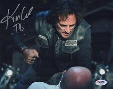 Kim Coates signed Sons of Anarchy photo with PSA/DNA COA