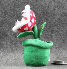 Super Mario Peluche Piranha Plant Felpa Muñeca de niños clásico juego de ordenador NUEVO