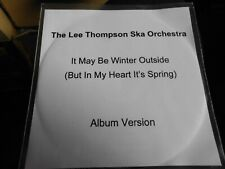 MADNESS - LEE THOMPSON SKA ORCHESTRA - it may be winter outside lp version promo