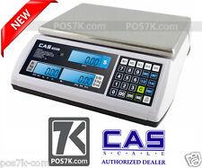 Cas S2000JR 60LB NTEP Price Computing Retail Scale LCD Display  S2000 JR