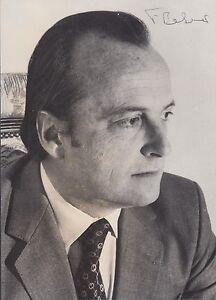 Francisco Pinto Balsemao, Prime Minister of Portugal, signed photo (SP)