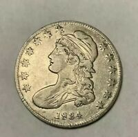 1834 Capped Bust Half Dollar XF- Extra Fine