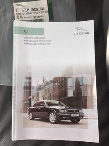 SPANISH JAGUAR XJ OWNERS USER MANUAL DRIVERS HANDBOOK 4.2 XJ8 XJR X350 2003-2007