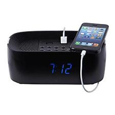 Groov-e GVSP407 Bluetooth Speaker System Alarm Clock and Charging Station - New