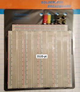 FCB*USA Breadboards: 1x 3520-pt w/ power posts *LARGE