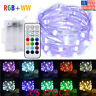 Multicolor Led Fairy String Lights 5M 50LEDs Battery Operated Remote Control New