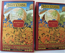 Jules Verne - Lot 2 livres Michel Strogoff Tomes 1 & 2 Collection Hetzel - 1997