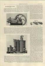 1921 Davey Paxman Wood Refuse Gas Producer Boby Harrow