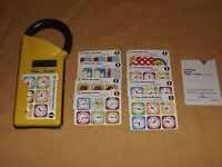VINTAGE TOY  GAME 1989 TEXAS INSTRUMENTS TIME TO GO CLOCK LEARNING GAME