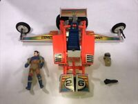 Mask Firefly With Julio Lopez Figure 1986 Complete Kenner M.A.S.K.