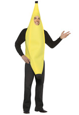 Adult Banana Costume Lightweight One Size