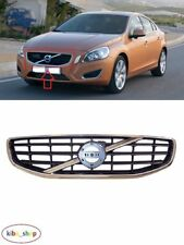 VOLVO S60/V60 2010 - 2013 NEW FRONT BUMPER CENTER UPPER RADIATOR GRILLE CHROME