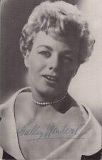 "SHELLEY WINTERS - Orig Vintage 3.5 ""x 5.5"" Collectors MGM Postcard Series No.145"