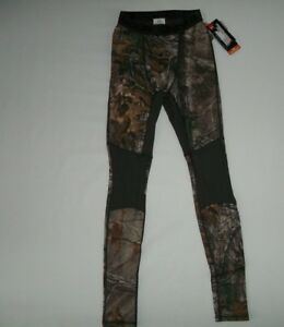 UNDER ARMOUR Realtree Camo WOOL Base Layer Hunting LEGGINGS Pants Mens SMALL NEW