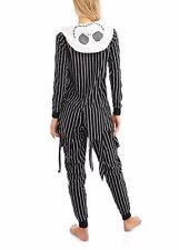NWT Nightmare Before Christmas Jack Skellington Costume Pajamas S 4-6 Women's