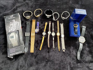 Collection Of Vintage Watches Unchecked