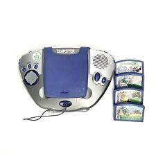 Leap Frog Leapster Learning Game System 2003 with 9 Games, Charger Not Included
