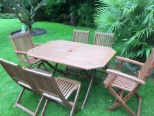 Up to 12 Seats 7 Pieces Garden & Patio Furniture Sets