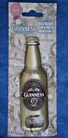NEW GUINNESS Genuine Collectors Brass Bottle Opener Magnet. OFFICIAL PRODUCT