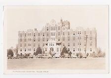 RPPC,Tulsa,Oklahoma,Morningside Hospital,Used,Lookeba,1937