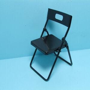 Dollhouse Miniature Folding Metal Chair T4249