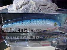 Mann's (New)Textured Stretch 30+ Bigfish Trolling Lure T30-28 in Blue Mackerel