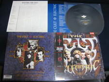 The Cult Electric Japan Promo Label Vinyl LP with OBI Goth Doors